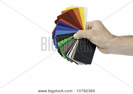 Sample Color Chart Hold