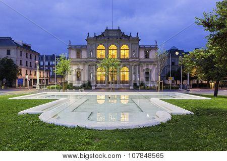 Geneva University Of Music In Switzerland