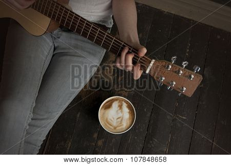 Coffee And Guitar