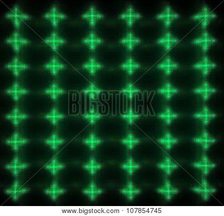 Green Led Matrix