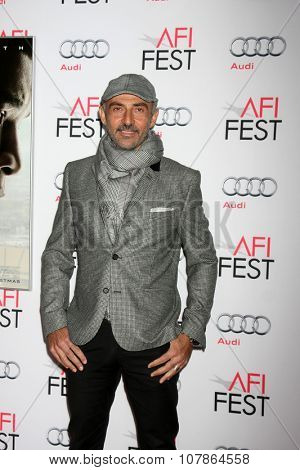 LOS ANGELES - NOV 10:  Shaun Toub at the AFI Fest 2015 Presented by Audi -
