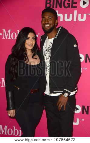 LOS ANGELES - NOV 10:  Dexter Fowler at the T-Mobile Un-carrier X Launch Celebration at the Shrine Auditorium on November 10, 2015 in Los Angeles, CA