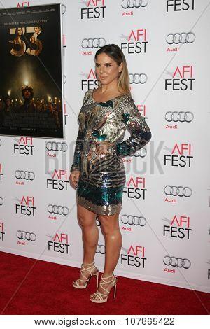LOS ANGELES - NOV 9:  Kate del Castillo at the AFI Fest 2015 Presented by Audi -