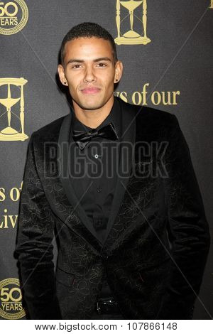 LOS ANGELES - NOV 7:  Kyler Pettis at the Days of Our Lives 50th Anniversary Party at the Hollywood Palladium on November 7, 2015 in Los Angeles, CA