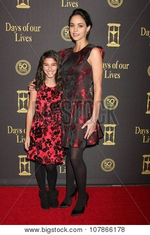LOS ANGELES - NOV 7:  Lauren Boles, Vivian Jovanni at the Days of Our Lives 50th Anniversary Party at the Hollywood Palladium on November 7, 2015 in Los Angeles, CA