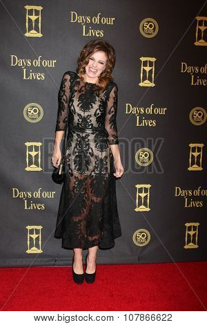 LOS ANGELES - NOV 7:  Molly Burnett at the Days of Our Lives 50th Anniversary Party at the Hollywood Palladium on November 7, 2015 in Los Angeles, CA