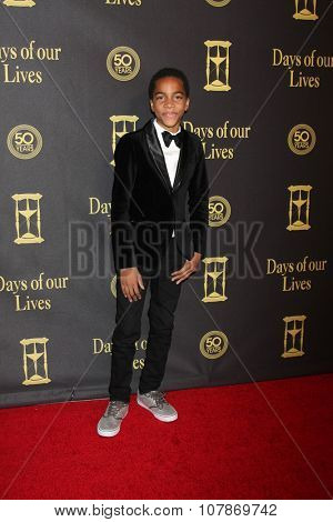 LOS ANGELES - NOV 7:  Terrell Ransom at the Days of Our Lives 50th Anniversary Party at the Hollywood Palladium on November 7, 2015 in Los Angeles, CA
