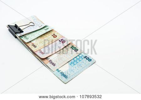 Qatar Currencies Hundred Riyal, Five Hundred Riyal, Hundred Riyal,fifty Riyal, Ten Riyal, Five Riyal