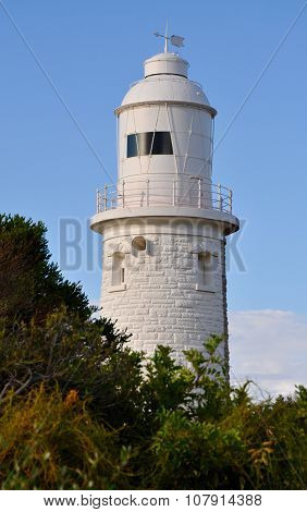 Woodman Point Lighthouse: Behind the Bush