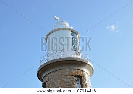 Lighthouse Lantern Room in the Blue