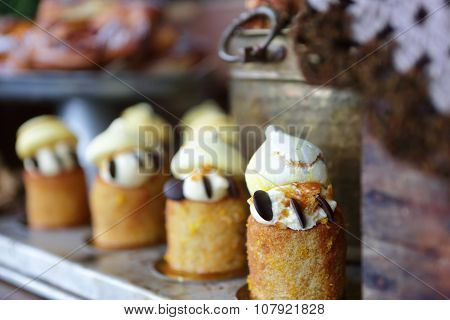 Scrumptious Cakes And Pastries