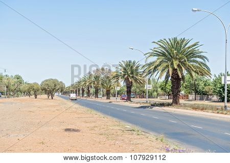 Walter Sisulu Road In Bloemfontein