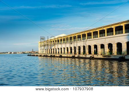 Harbor in Havana, Cuba