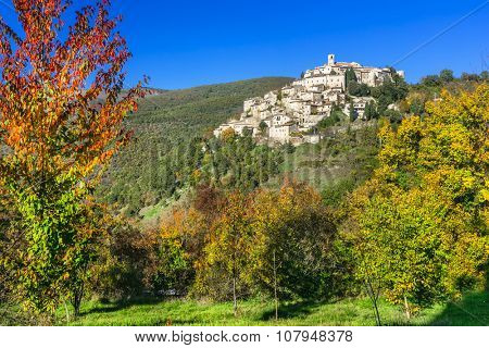 pictorial villages of Italy - Labro in Rieti province