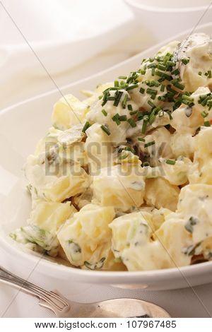 healthy fresh potato salad