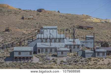 Mining Operation At Bodie Ghost Town