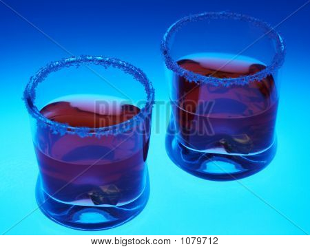 Two  Brandy Glasses