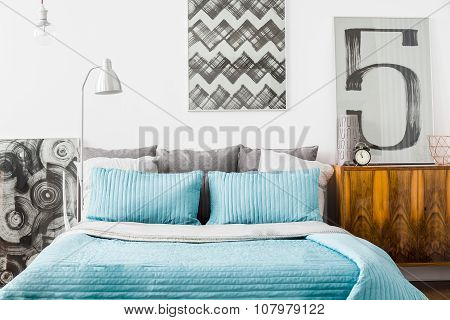 Cozy Bedroom With Matrimonial Bed