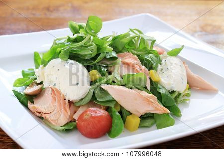 healthy fish meal