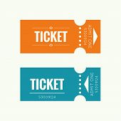 Entry ticket to old vintage style. Admit one theater, cinema, zoo, swimming pool, fair, rides, swing, amusement park, carousel. icon for online booking of tickets. Web and mobile app poster