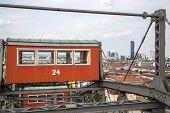 The oldest Ferris Wheel in Vienna Austria. Prater park poster