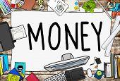 Money Economics Finance Investment Payment Concept poster