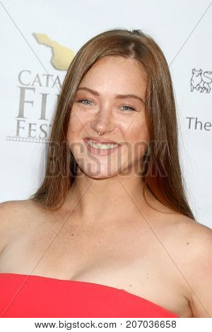 LOS ANGELES - SEP 29:  Alison Pulley at the Catalina Film Festival - September 29 2017 at the Casino on Catalina Island on September 29, 2017 in Avalon, CA
