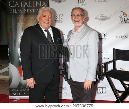 LOS ANGELES - SEP 29:  GW Bailey, Tony Plana at the Catalina Film Festival - September 29 2017 at the Casino on Catalina Island on September 29, 2017 in Avalon, CA