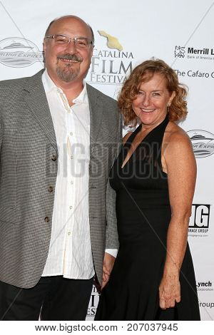 LOS ANGELES - SEP 30:  Alan Brewer, guest at the Catalina Film Festival - September 30 2017 at the Casino on Catalina Island on September 30, 2017 in Avalon, CA