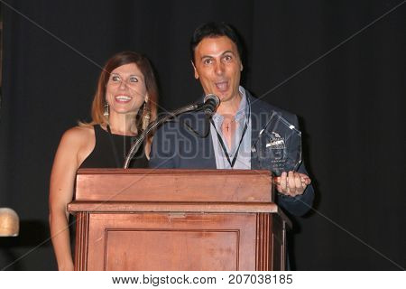 LOS ANGELES - SEP 30:  Erin Carere, Carlo Carere at the Catalina Film Festival Awards at the Casino on Catalina Island on September 30, 2017 in Avalon, CA