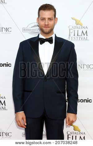 LOS ANGELES - SEP 30:  Daniel Robaire at the Catalina Film Festival - September 30 2017 at the Casino on Catalina Island on September 30, 2017 in Avalon, CA
