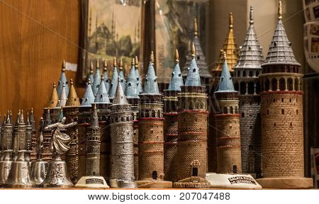 Models Of  The Galata Tower