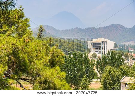 The Territory Of The Hotel Naturland Forest Resort