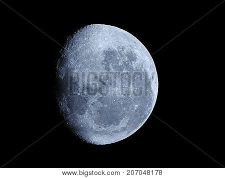Moon Background / The Moon is an astronomical body that orbits planet Earth, being Earth's only permanent natural satellite. It is the fifth-largest natural satellite in the Solar System