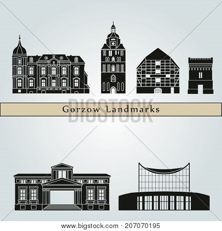 Gorzow Wlkp Landmarks