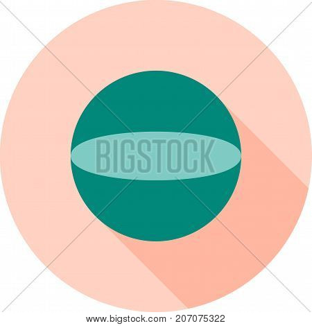 Circle, Maths, Geometry Icon Vector & Photo | Bigstock