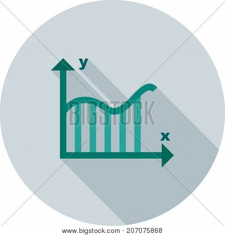 Integral, equation, mathematics icon vector image. Can also be used for Math Symbols. Suitable for use on web apps, mobile apps and print media.