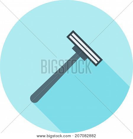 Razor, barber, blade icon vector image. Can also be used for Mens Accessories. Suitable for mobile apps, web apps and print media.