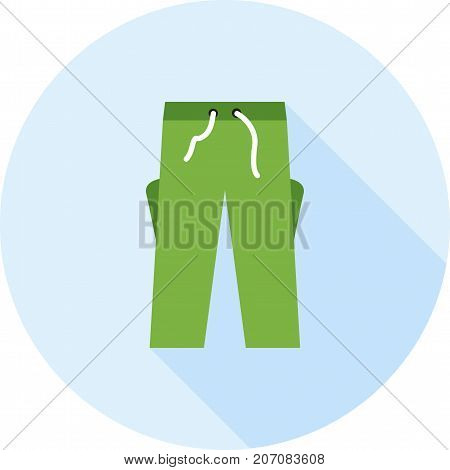 Shorts, trousers, summer icon vector image. Can also be used for Mens Accessories. Suitable for use on mobile apps, web apps and print media.