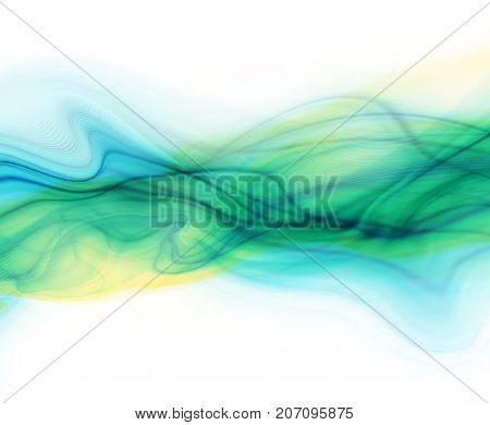 Colorful modern futuristic background with abstract waves