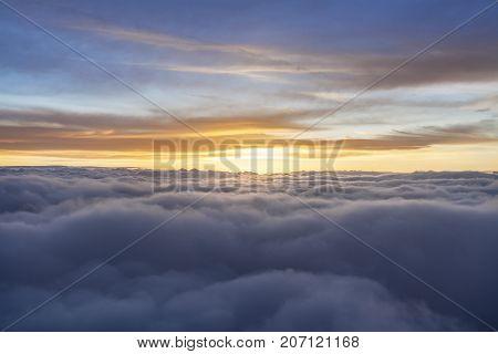 Multicolored Sunrise
