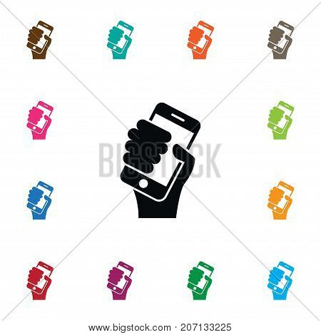 Mobile Vector Element Can Be Used For Mobile, Smartphone, Keep Design Concept.  Isolated Keep Icon.