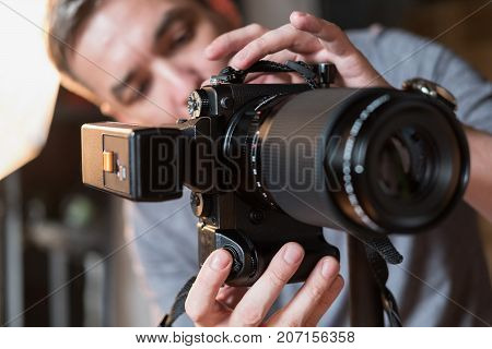 The Process Of Photo Shooting In Studio
