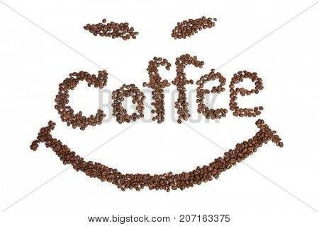 make smile coffee beans