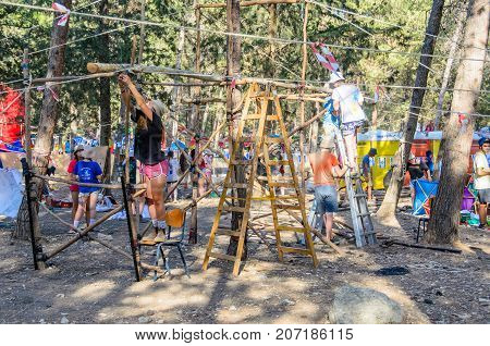 Israel Scout Summer Camp