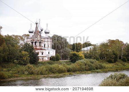 The church of St. John Chrysostom Ioann Zlatoust in Vologda, Russia