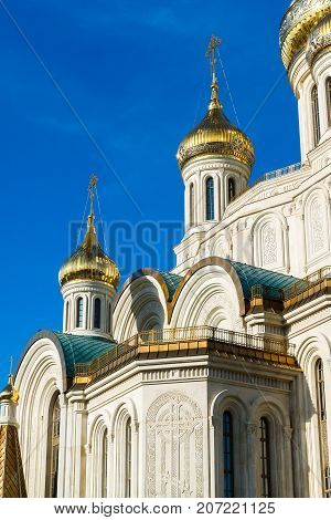 The church in honor of the Resurrection of Christ, the New Martyrs and Confessors in Moscow. Russia