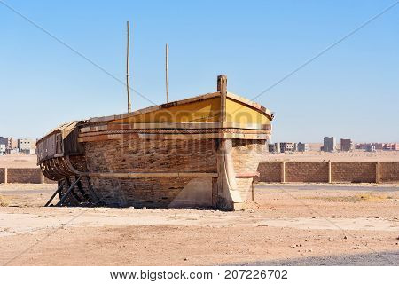 Decoration Of Boat In Atlas Corporation Studios. Ouarzazate