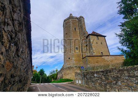 Ursulines Tower, In Autun