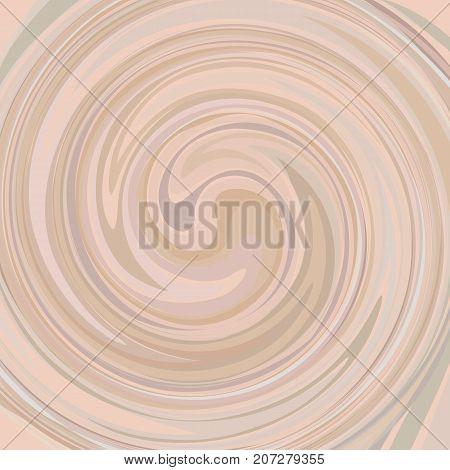 Abstract cream swirl texture background. Creamy spiral twirl vector backdrop.